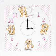 Forever Friends Cross Stitch Clock Kit