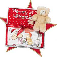 First Christmas Forever Friends Medium Box Gift Set