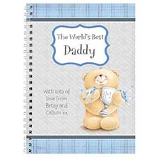 Personalised Forever Friends No1 Trophy Diary