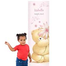 Personalised Forever Friends Big Flower Height Chart