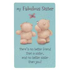 Sister Forever Friends Wallet Card