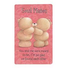 Soulmate Forever Friends Wallet Card