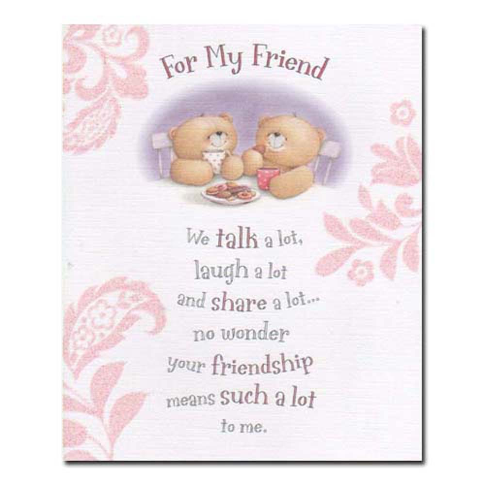 For my friend forever friends card forever friends official store for my friend forever friends card m4hsunfo Images