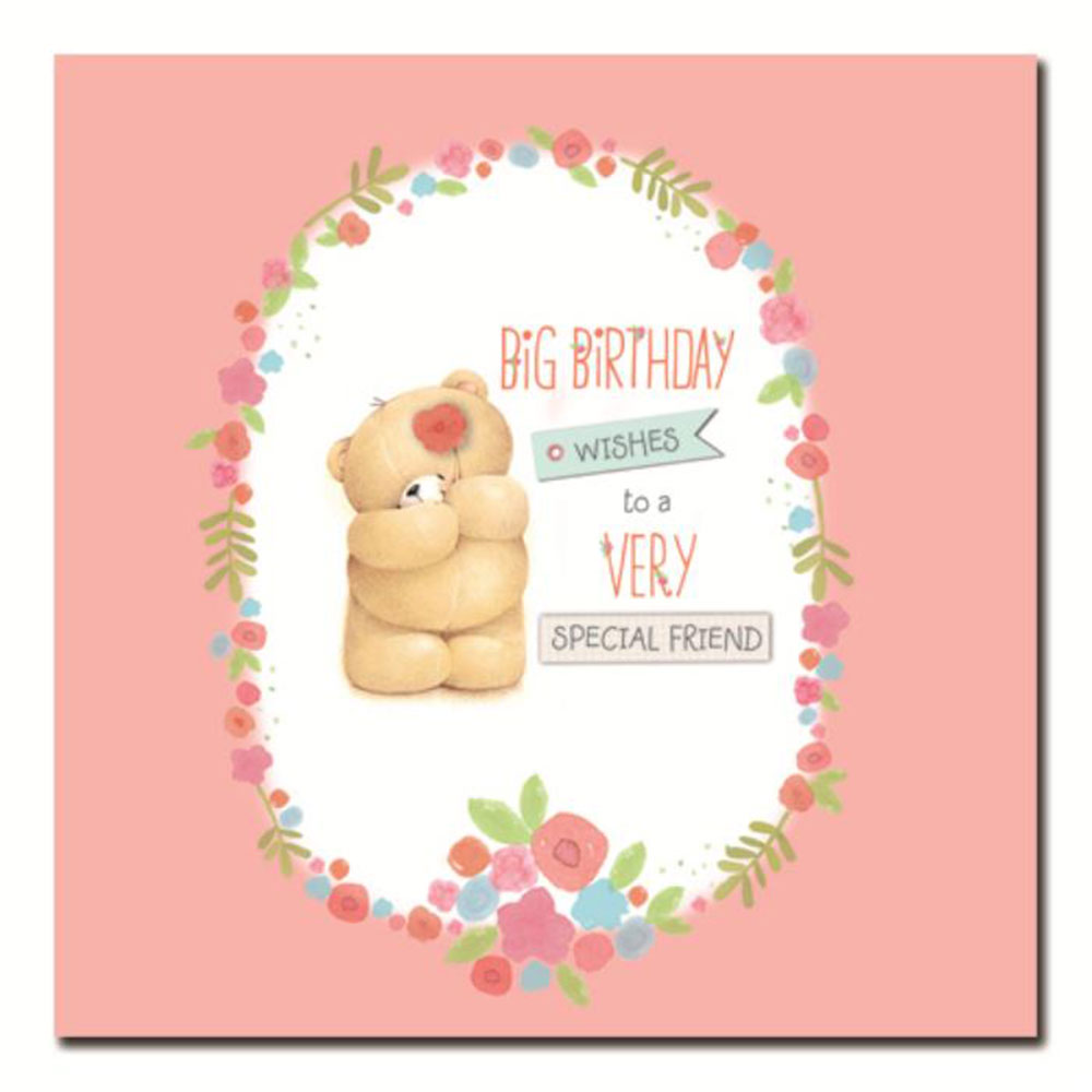 Birthday Wishes Card For Friend ~ Special friend birthday wishes forever friends card official store