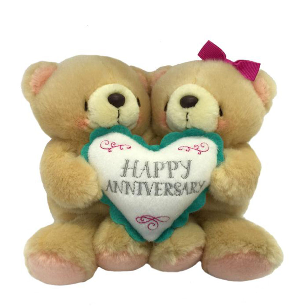 2 x 6 happy anniversary forever friends bears forever