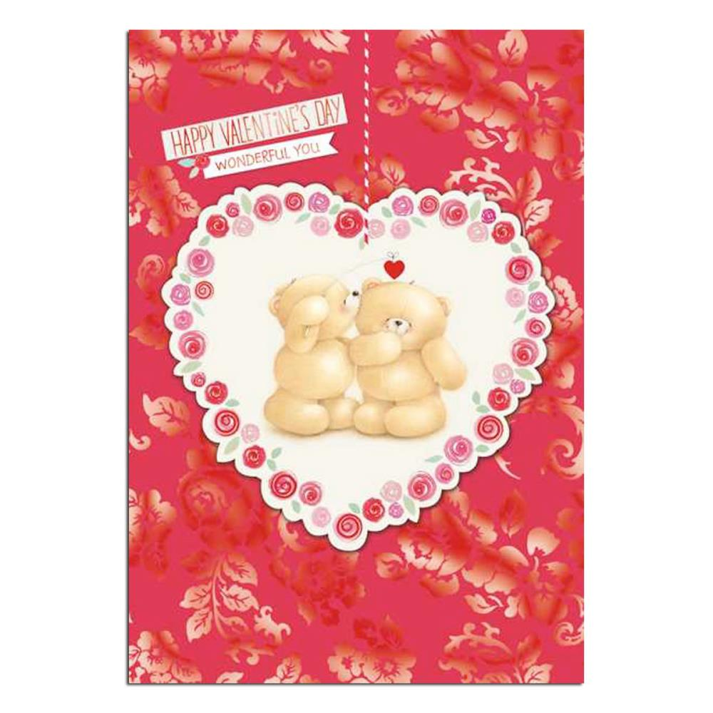 happy valentines day forever friends card  forever