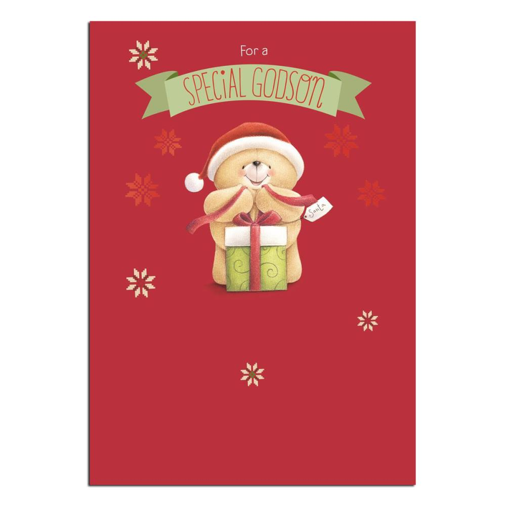 Special Godson Forever Friends Christmas Card | Forever Friends ...