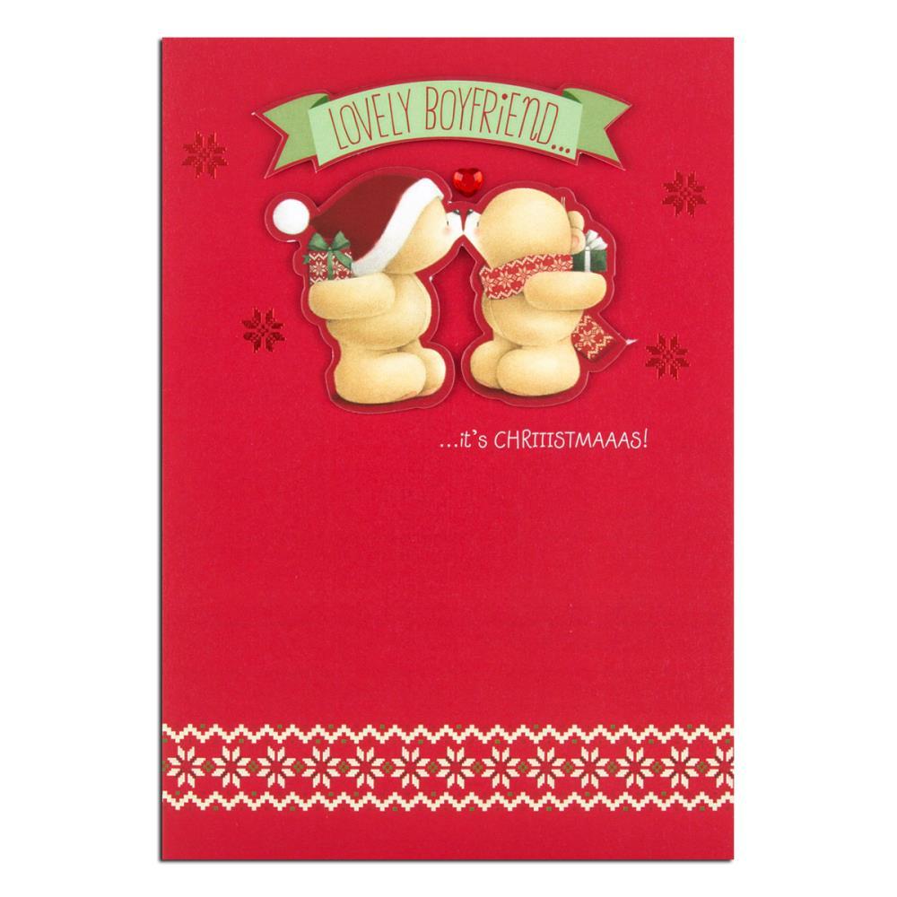Boyfriend Forever Friends Christmas Card | Forever Friends Official ...