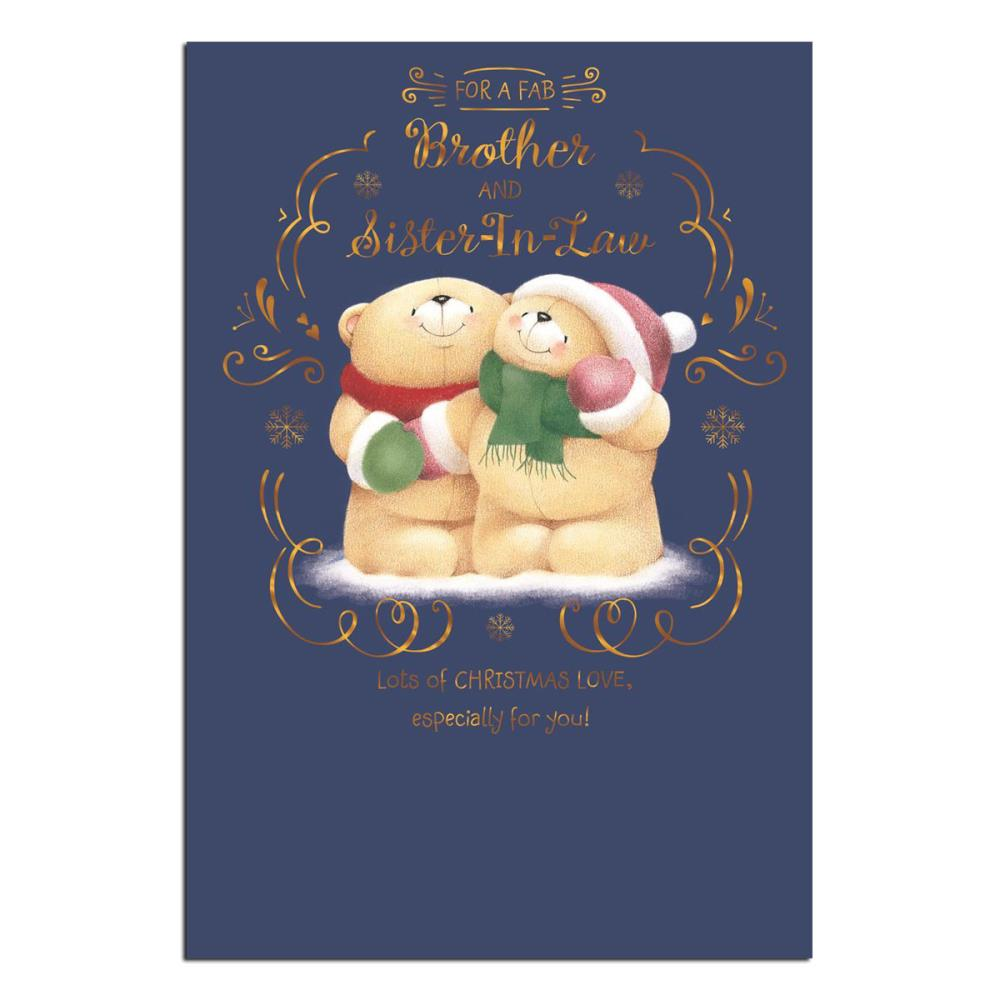 Brother sister in law forever friends christmas card forever brother sister in law forever friends christmas card m4hsunfo