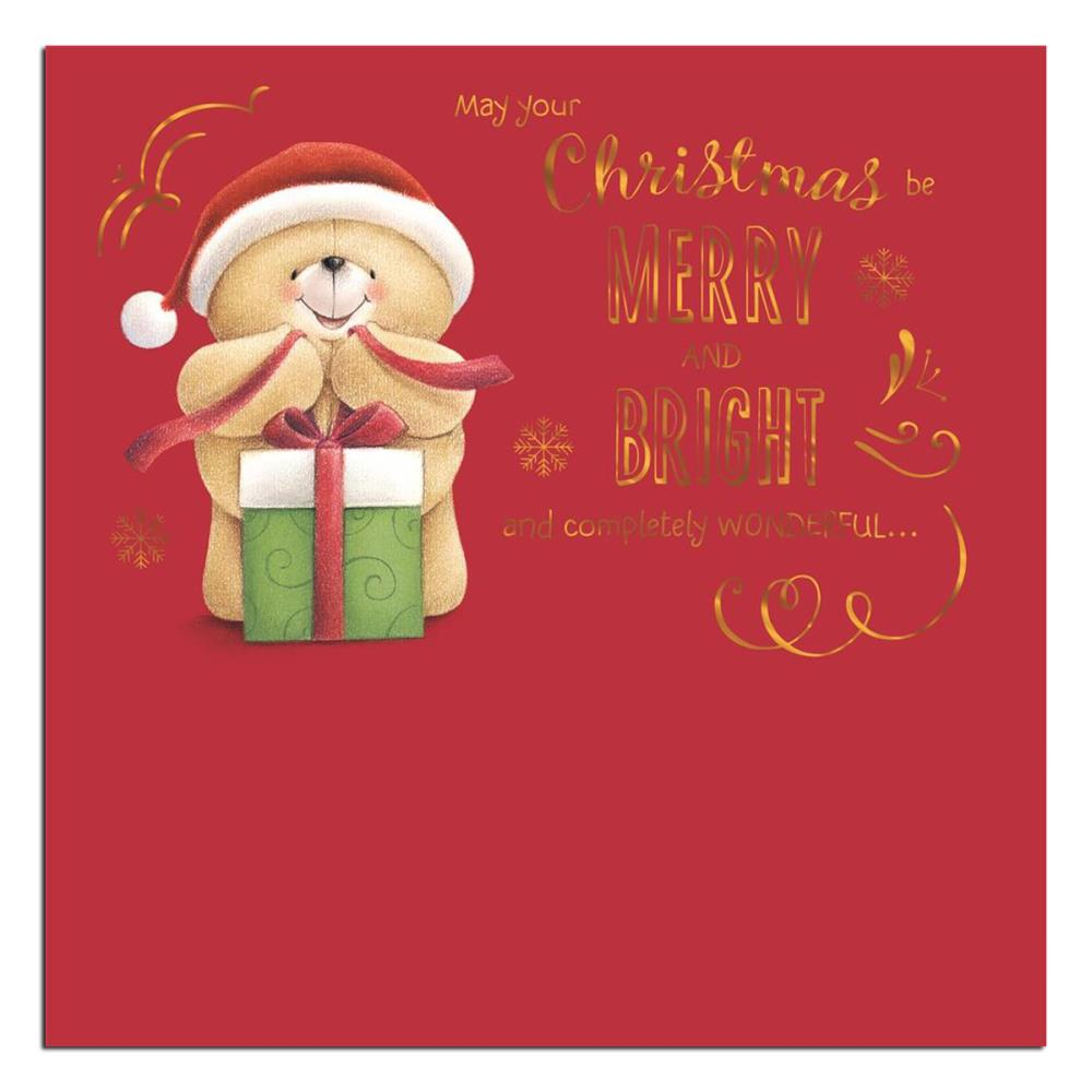 Merry and Bright Forever Friends Christmas Card | Forever Friends ...