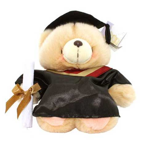 "10"" Graduation Forever Friends Bear"