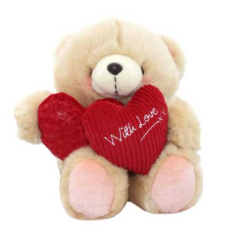 "10"" With Love Hearts Forever Friends Bear"