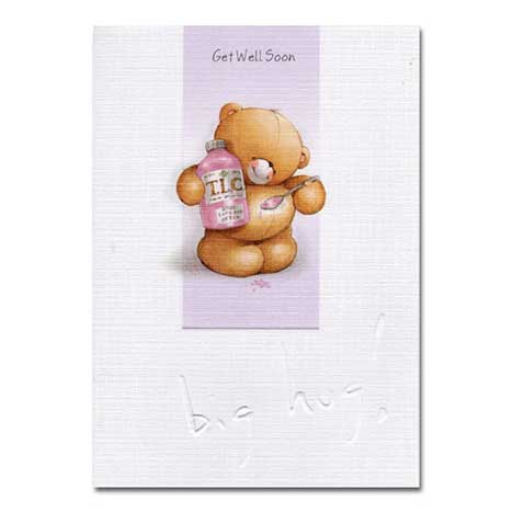 Get Well Soon Forever Friends Card