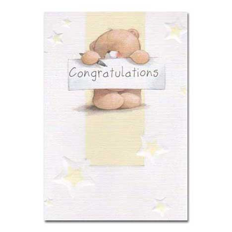 Congratulations Forever Friends Card