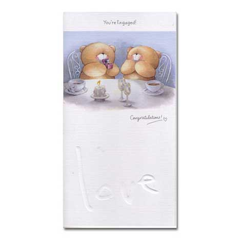 Engagement Forever Friends Card