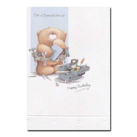 Uncle Birthday Forever Friends Card