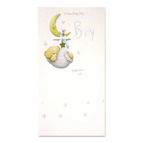 Baby Boy Forever Friends Card