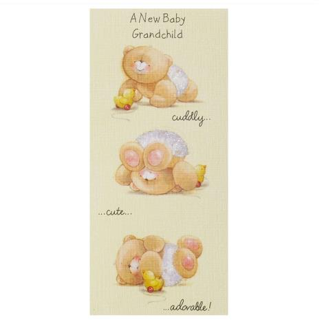 New Baby Grandchild Forever Friends Card