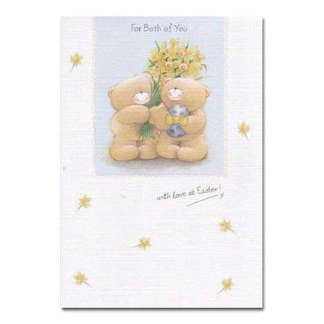 For Both of You Forever Friends Easter Card