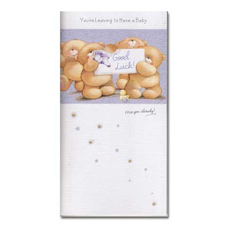 Leaving to Have a Baby Forever Friends Card