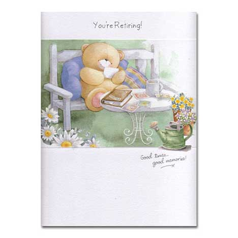 Retirement Forever Friends Card