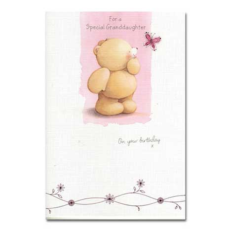 Granddaughter Birthday Forever Friends Card