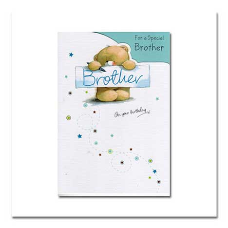 Brother Birthday Forever Friends Card