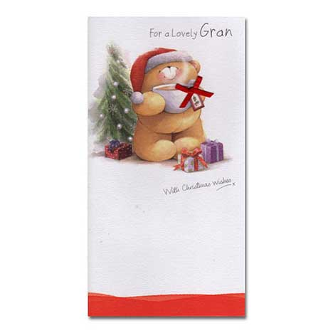 Gran Christmas Forever Friends Card