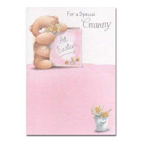 Special Granny Forever Friends Easter Card