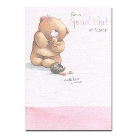 Special Girl Forever Friends Easter Card