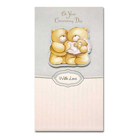 Christening Forever Friends Card