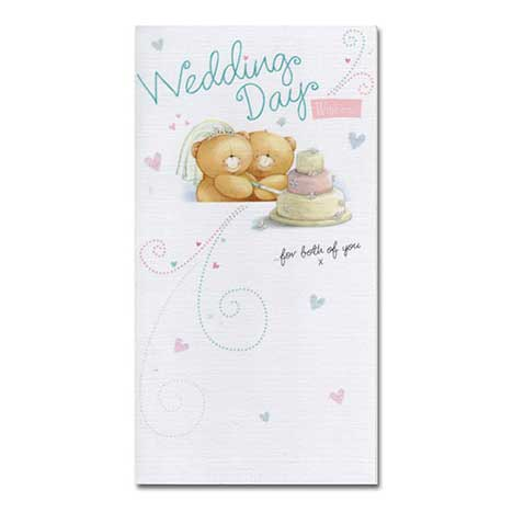 Wedding Forever Friends Card