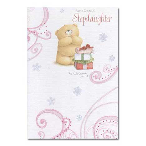 Stepdaughter Christmas Forever Friends Card