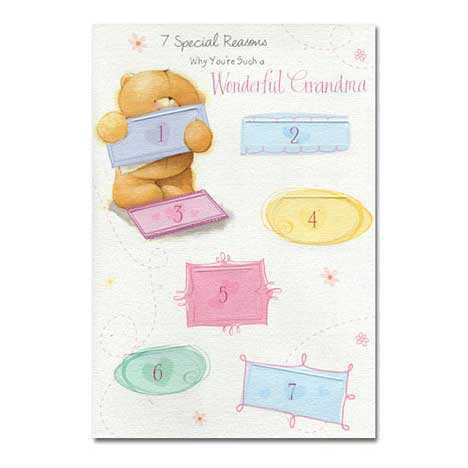 Grandma Birthday Forever Friends Card