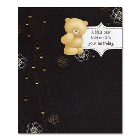 Little Bear Birthday Forever Friends Card