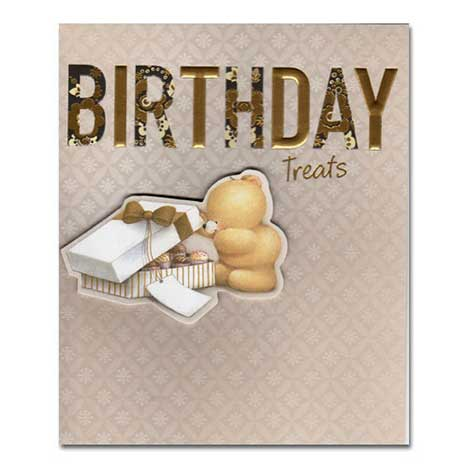 Birthday Treats Forever Friends Card
