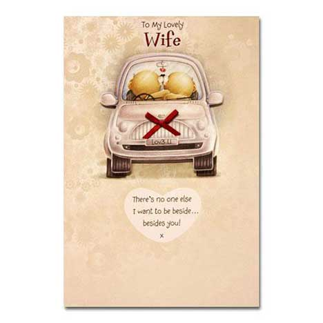 Wife Birthday Forever Friends Card