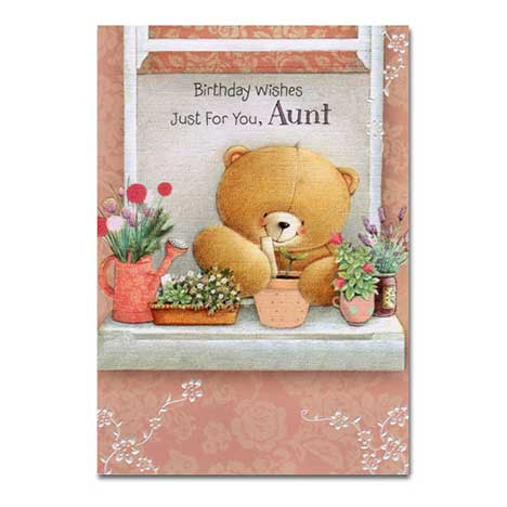 Aunt Birthday Forever Friends Card