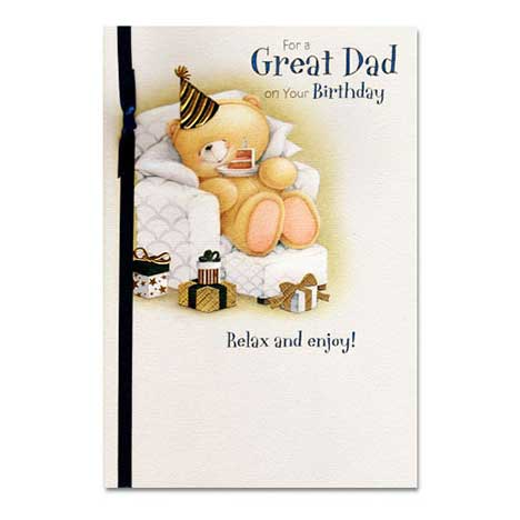 Dad Birthday Forever Friends Card