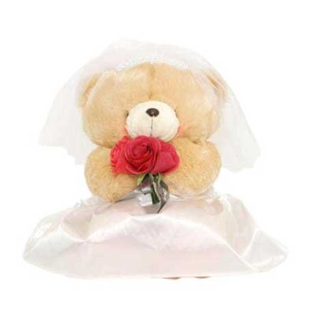 "6"" Bride Forever Friends Bear"