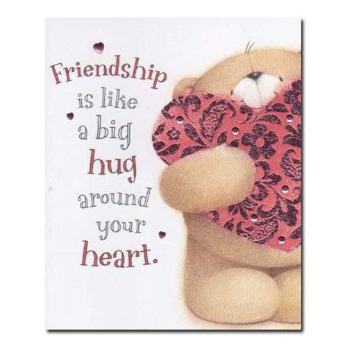 Friendship Forever Friends Card