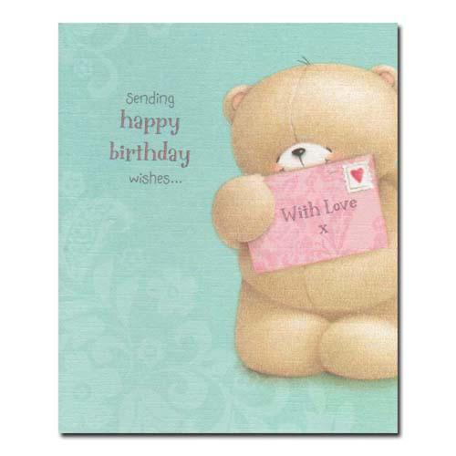 Happy Birthday Wishes Forever Friends Card