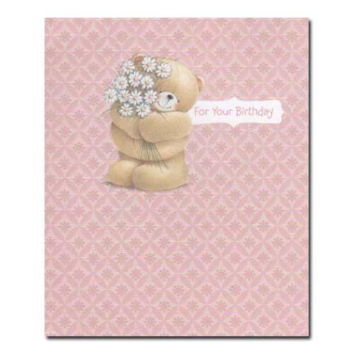 For Your Birthday Forever Friends Card