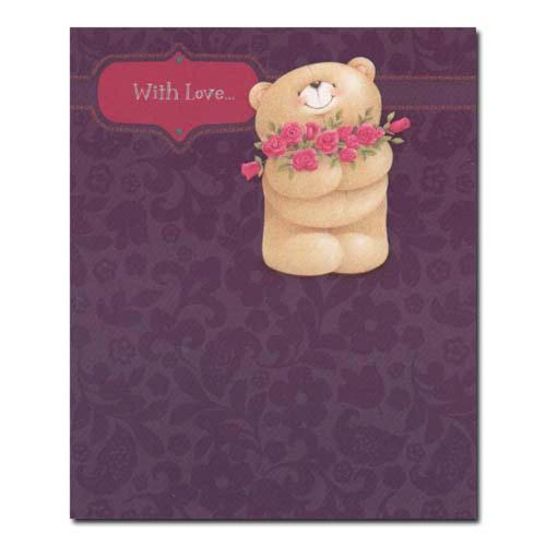 With Love Birthday Forever Friends Card