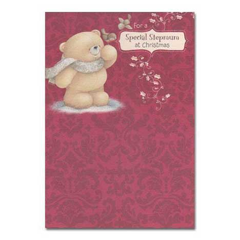 Step mum Christmas Forever Friends Card