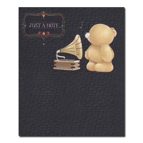 Just a Note Forever Friends Card