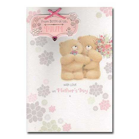 Mum from Both of Us Forever Friends Mothers Day Card