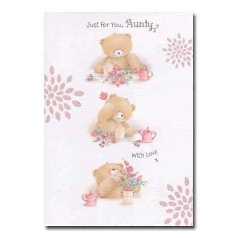 Aunty Birthday Forever Friends Card