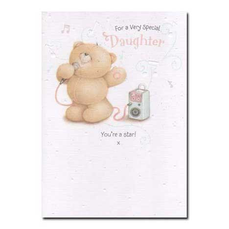 Very Special Daughter Forever Friends Birthday Card Forever