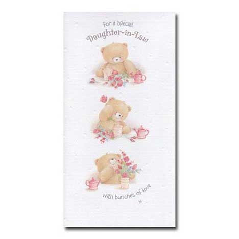 Special Daughter-in-Law Birthday Forever Friends Card
